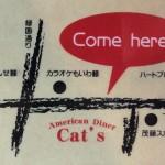 アメリカンダイナー・キャッツ※【2017年10月29日閉店】